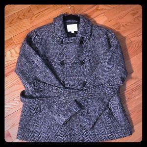 The Loft Belted Tweed Coat